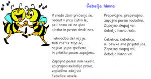 Čebelja himna